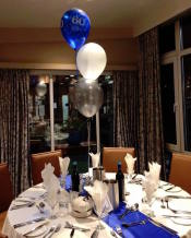 Table Balloon Cluster