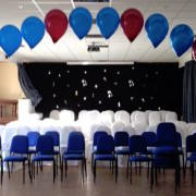 Helium Filled Balloon Arch
