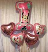 Minnie Mouse 1st Birthday Bouquet